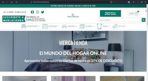 DISEÑO WEB - MERCATIENDA